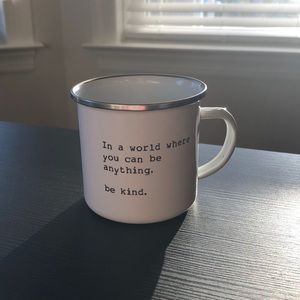 "BRAND NEW! Om & Ah ""Be Kind"" Coffee Mug"